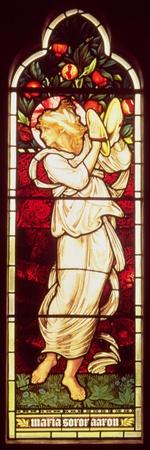 Miriam, Designed by Burne-Jones, Executed by Morris Marshall Faulkner and Co., Chancel South Window