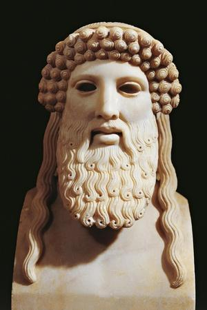 Marble Bust of Hermes, 5th Century B.C.