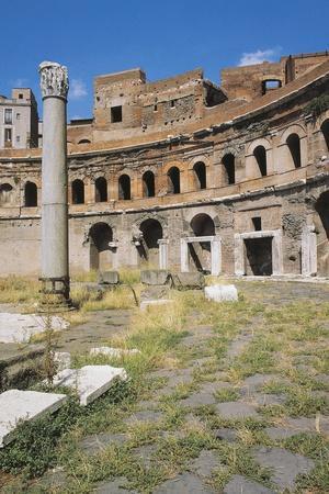 Trajan's Market, Trajan's Forum, Roman Forum, Rome, Italy, Roman Ad