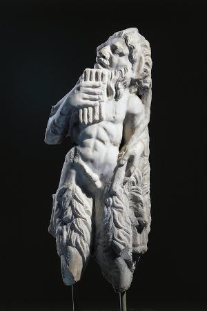 Marble Statue of God Pan, from Tyrnovo, Moldova