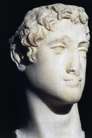 Marble Head of Ptolemy Vi Philometor, Ptolemaic Kingdom, Hellenistic Era BC