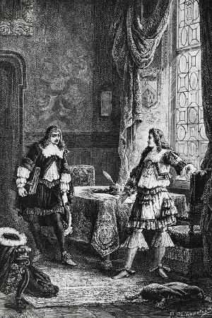 Louis XIV Dismissing Superintendent of Finance, Nicolas Fouquet, France
