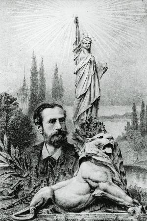 Statue of Liberty and its Sculptor and Designer, Frederic Auguste Bartholdi