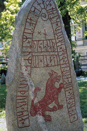 Rune Stone, Lund, Sweden, Viking Civilization