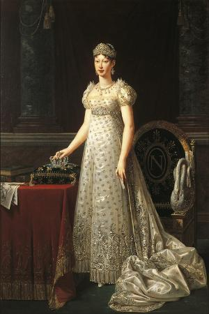 Italy, Parma, Portrait of Marie Louise of Austria, Duchess of Parma, Piacenza and Guastalla