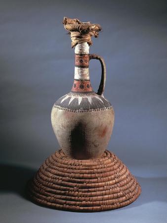 Vase, Part of Funerary Equipment of Tomb of Kha, from Deir El-Medina, Egypt