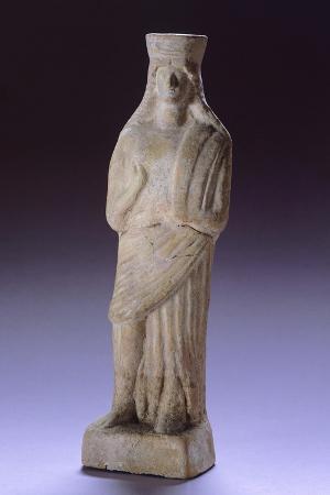 Demeter, Terracotta Statue from Apollonia, Albania, 5th Century BC