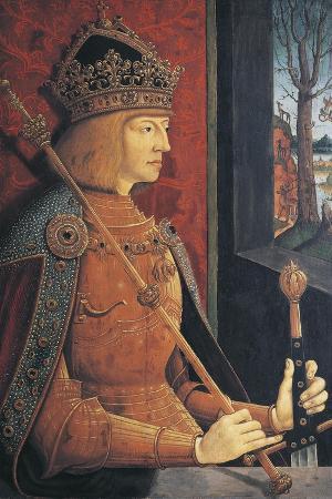 Portrait of Maximilian I of Austria, Emperor of the Holy Roman Empire