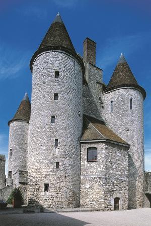 View of Fortified Chateau De Nemours, Ile-De-France, France, 12th Century
