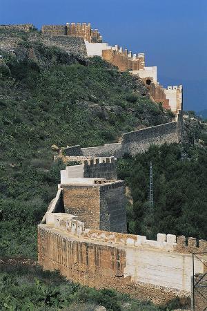 Defensive Walls, Sagunto, Valencia, Spain