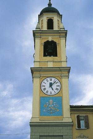 Clock Tower, Boretto, Emilia-Romagna, Italy