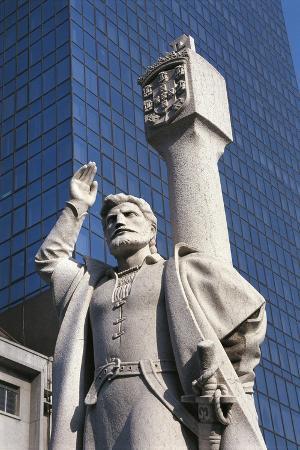 Monument of Portuguese Navigator Jorge Alvarez, Macao, China