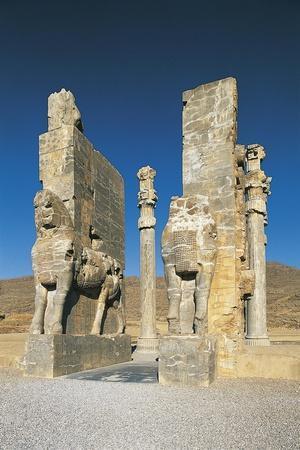 Iran, Persepolis, Gate of All Nations