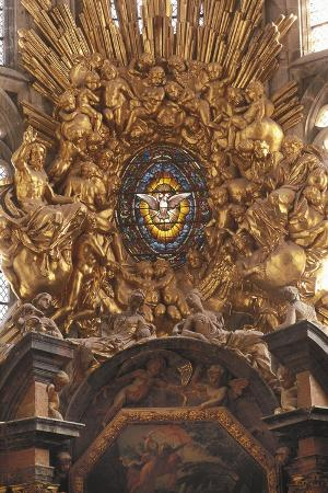 France, Provence-Alpes-Cote D'Azur, Saint Maximin-La Sainte Baume, Basilica of Saint Mary