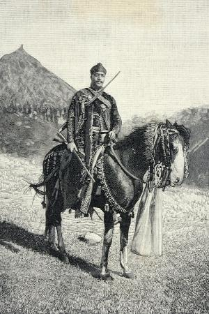 Ethiopia, Ras Mangasha of Tigre in 1894