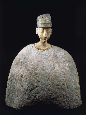 Idol with Green Headdress, 2500-2000 BC