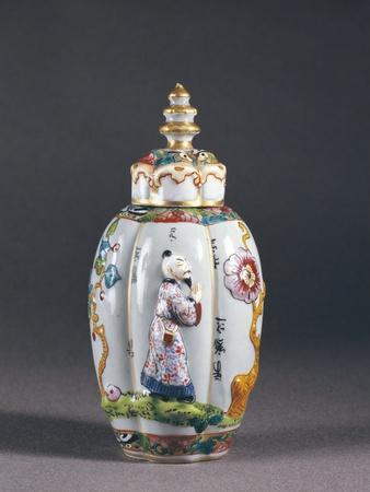 Porcelain Tea Caddy