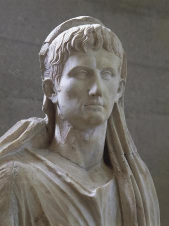 Roman Art, Statue of Augustus, the First Emperor of the Roman Empire