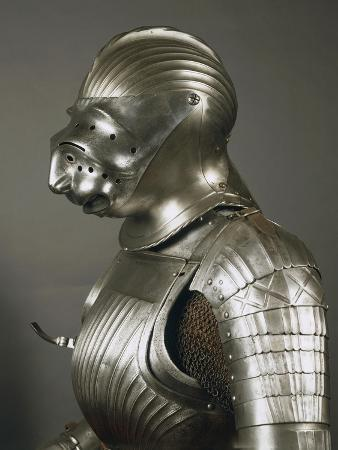 Horseman's Armor in Steel, Made in Nuremberg or Augsburg, 1510-1515, Germany, 16th Century
