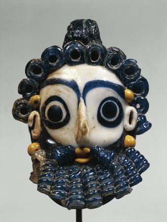Tunisia, Carthage, Glass Paste Mask