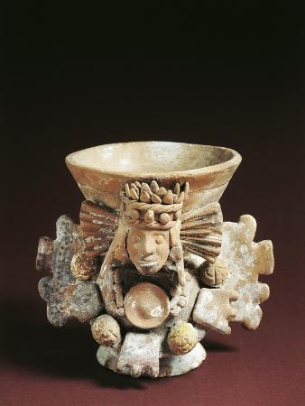 Vase Drum from Tenochtitlan, Mexico