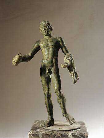 Italy, Veneto, Verona, Votive Statuette from the Necropolis, Bronze