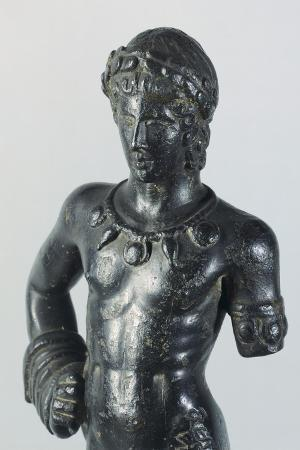Bronze Depicting Aplu, Front View, 375-350 BC