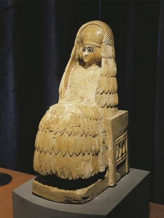 Alabaster Statue Representing Goddess Ishtar