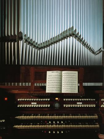 Keyboard and Pipes, Detail from an Organ