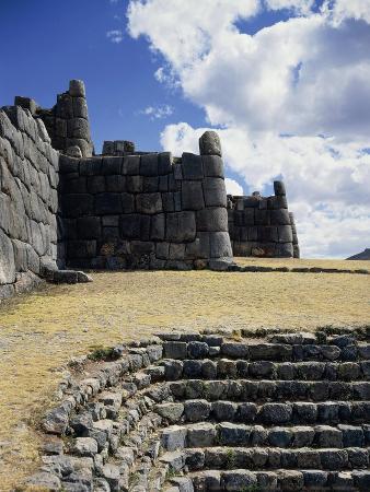 Peru, Cuzco, Sacsayhuaman, the Cyclopean Walls of the Sacsayhuaman Fortress