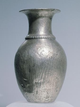 Silver Pitcher, from the Rozovec Burial Complex, Plovdiv Region, Bulgaria
