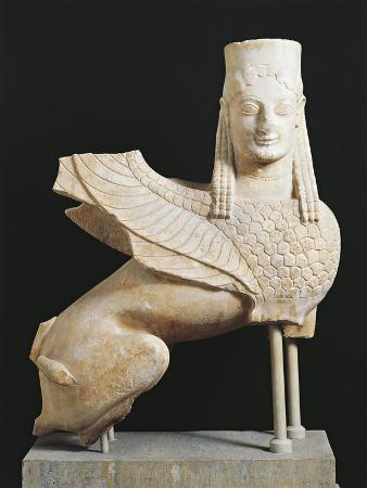 Statue of Winged Sphinx