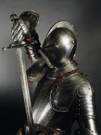 Horseman's Armor in Steel Decorated with Engravings, Made in England, 1565-1570, Italy