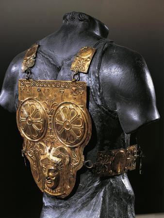 Tunisia, Tunis, Gilded Bronze Armor