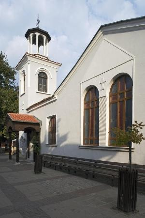 View of Church of St George, Sozopol, Bulgaria