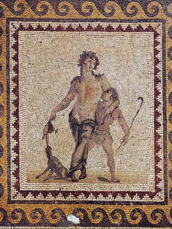 Mosaic Depicting Drunk Dionysus, from Antioch, Turkey