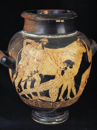 Stamnos with Killing of Argos