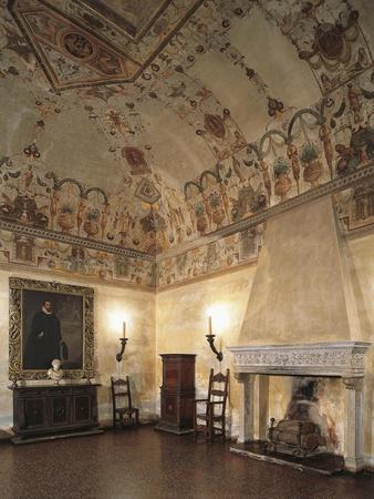 Chimney Room, Marfisa D'Este's Palace, Ferrara, Italy, 16th Century