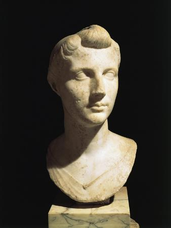 Bust of Octavia Younger, from Velletri, Lazio Region, Italy