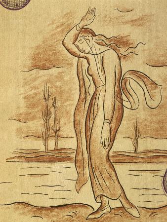 Illustration for Kata Kabanova by Leos Janacek