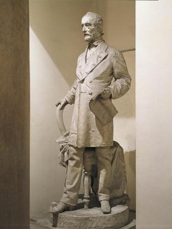 Statue of Giuseppe Mazzini, 1805-1872, Italian Patriot