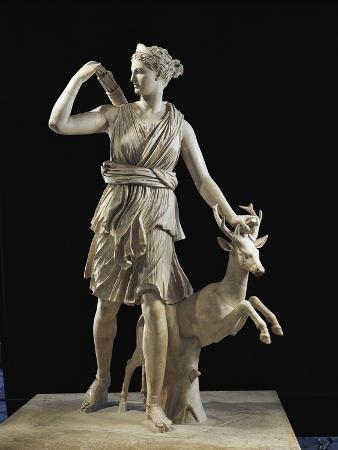 Diana of Versailles Statue of Artemis with Deer
