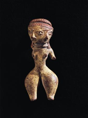 Sculpture of Woman with Two Faces, Mexico, Tlatilco Civilization, Circa 800 B.C.