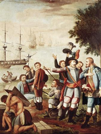 Diego Velazquez De Cuellar Entrusts Command of the Expedition to Hernan Cortes
