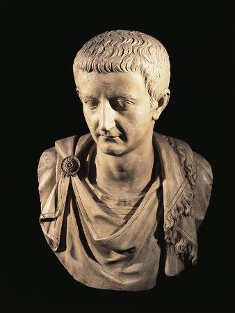 Marble Bust of Emperor Tiberius