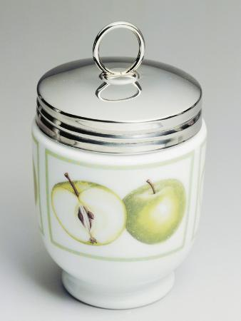 Egg Cups Decorated with Apples