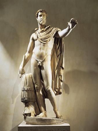 Marble Statue of Antoninus Pius, Emperor from 138