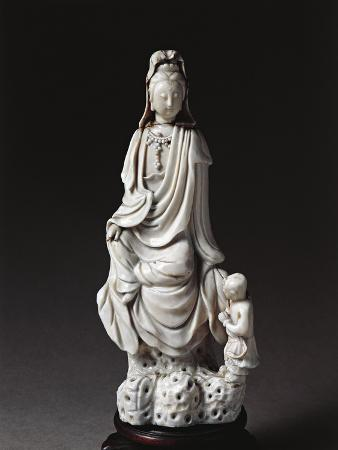 Figurine of Kuan Yin, Giver of Children