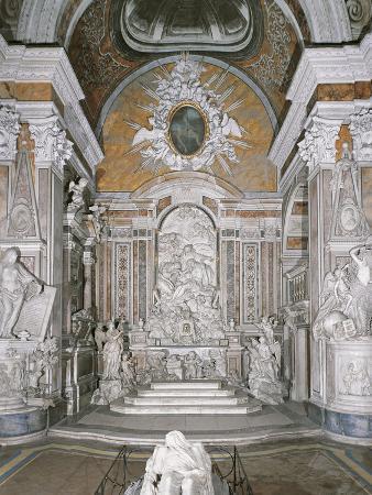 Apse of Sansevero Chapel, Naples, Campania, Italy, 17th-18th Century