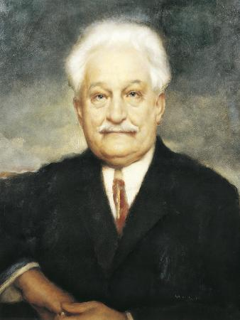 Portrait of Leos Janacek, Czech Composer